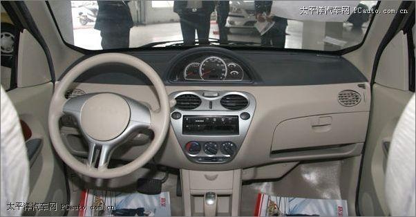 哈飞路宝节油p自动挡内饰-微车也自动 四款5万以下自动挡车型推荐高清图片