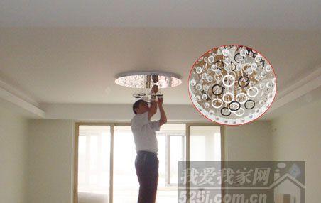 木工吊顶灯图片