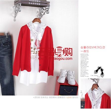 韩网针织衫:教你颜色搭配!