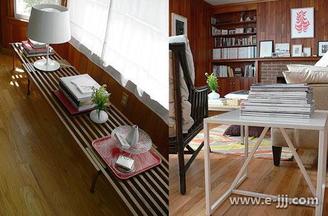 旧房改造加建木阳台改造效果图客厅阳台改造图片3