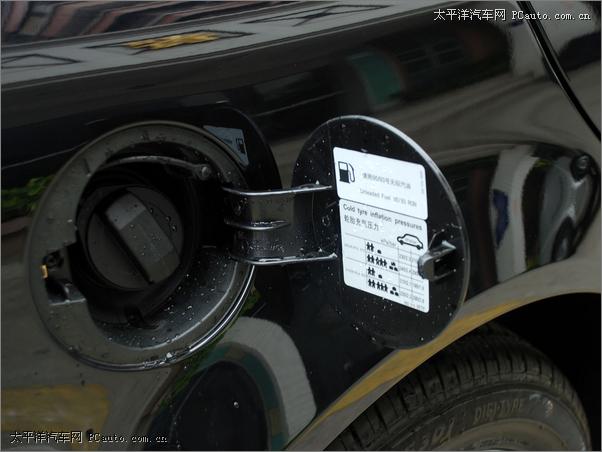 帕萨特1.8t的个别用户车辆使用频率较低,每箱汽油在油箱中存高清图片
