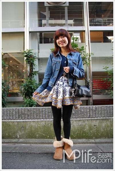 日本街拍 2010最新时尚搭配图片