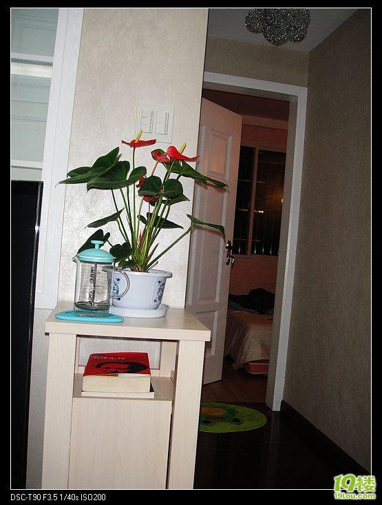 室内花架及鞋柜设计图