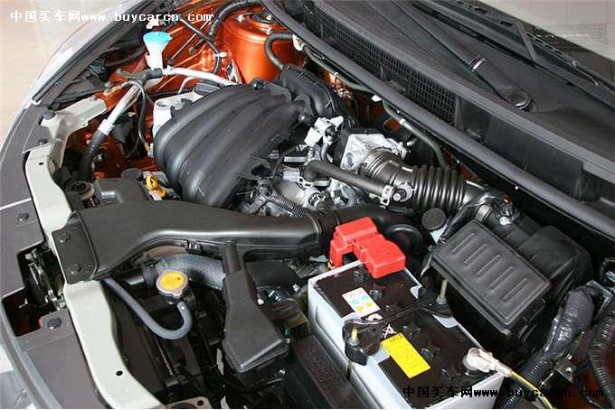 东风日产为骊威配备1.6l与1.8l两款发动机,其1.