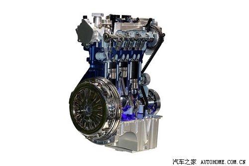 长安福特将产1.0T发动机高清图片