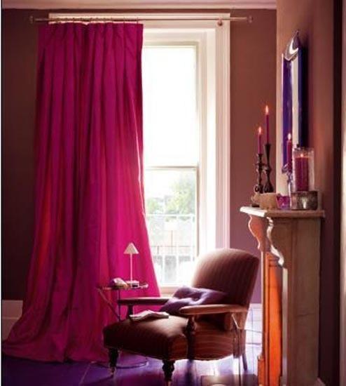 15款紫色窗帘 装饰浪漫小时光
