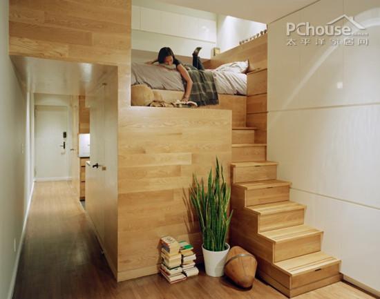 木地板安装楼梯效果图片真实