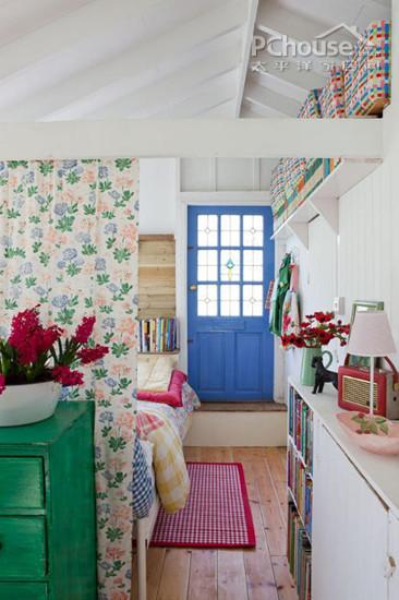 女生卧室欧式装修风格小碎花