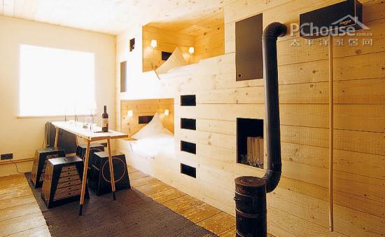 设计重点:阁楼卧室