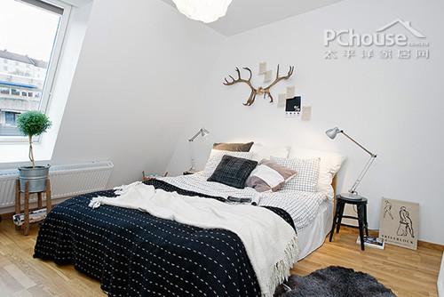 背景墙 床 房间 家居 家具 设计 卧室 卧室装修 现代 装修 500_334