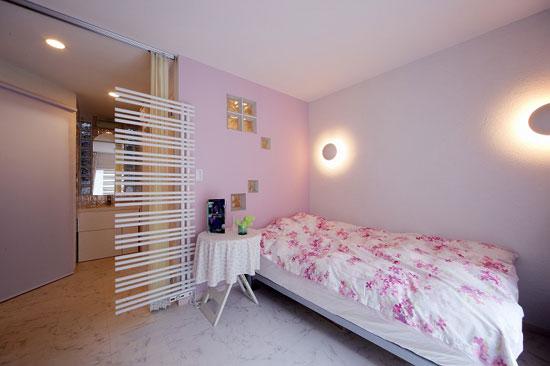 女孩子房间装修效果图 7平米小空间卧室装修