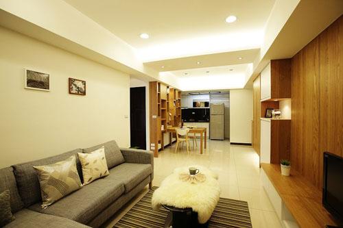 2套开放式单身公寓设计