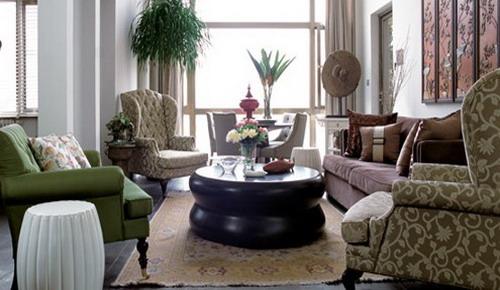 客厅装修效果图大全2012图片 现代简约风格搭配