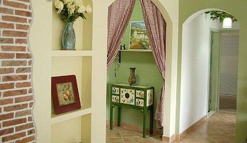 客厅装修效果图大全2012图片 田园风格搭配 高清图片
