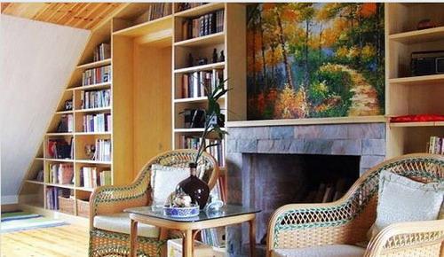 客厅装修效果图大全2012图片 美式乡村风格搭配