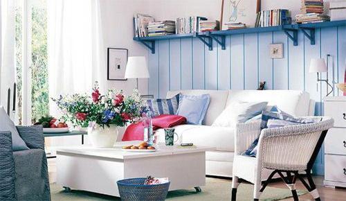 客厅装修效果图大全 地中海风格搭配 装修攻