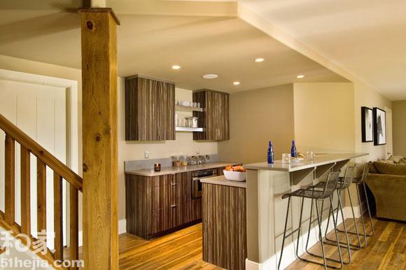 小户型简约风格厨房装修效果图欣赏 25个精彩整体橱柜 完