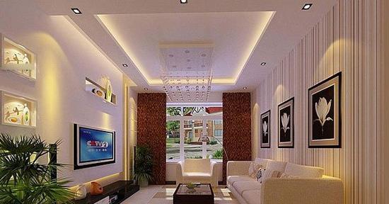 欧式客厅电视背景墙 完美无瑕