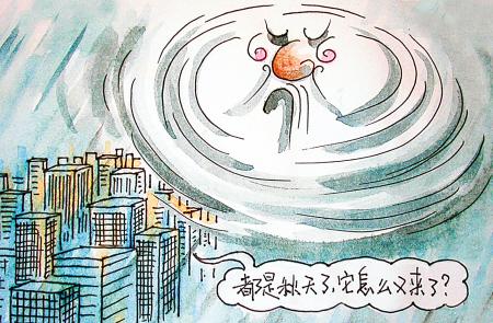 """""""秋台风""""携狂风暴雨而来,宁波今年气候不平常?图片"""