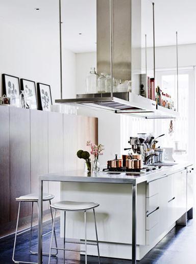 蜗居豪宅都适用 8款开放式厨房吧台 - 装修攻略