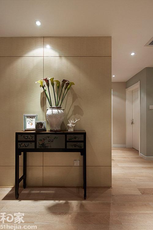 客厅过道玄关柜装修高清大图