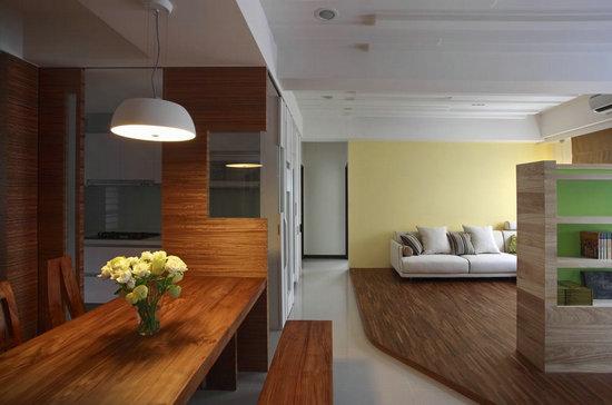 窄小客厅装修效果图