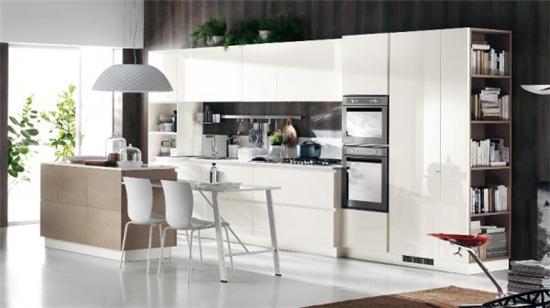 设计 厨房装修效果图大全2013图片   长方形厨房装修 莲花小