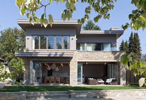 家庭累积的梦想 加拿大独栋别墅设计