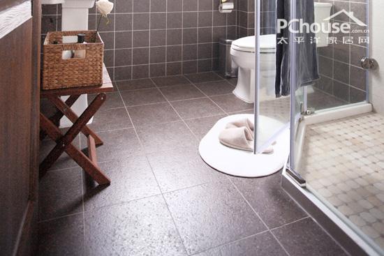 重视卫浴地砖防滑性 高清图片