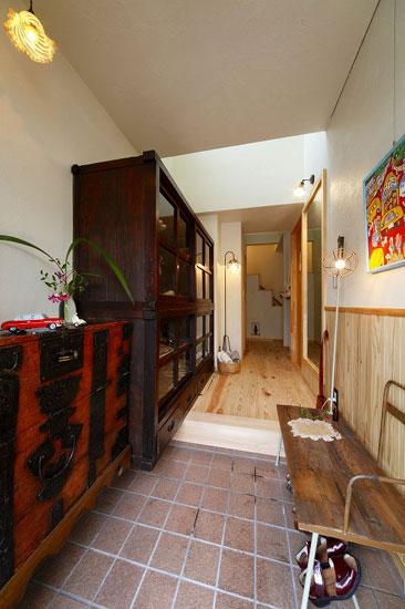 日式风格厨房装修效果图 67平方的家居装修 4