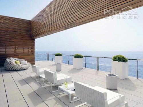 白色极致诱惑 墨西哥豪华海景别墅设计