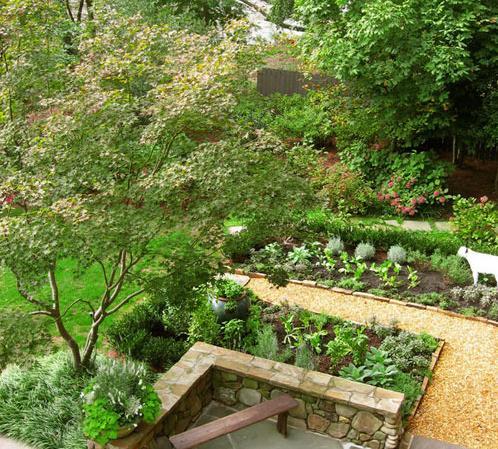 农村家庭小花园设计图展示