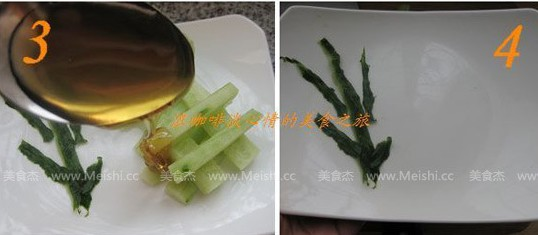 青瓜摆设- 健康美食蜂蜜黄瓜
