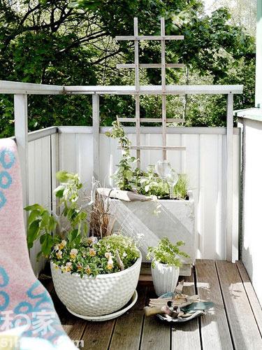会呼吸的两居室小户型装修案例 阳台