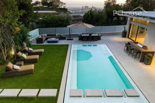欧洲豪华泳池别墅设计