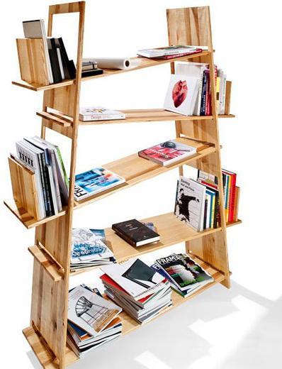 8个小户型书架设计 如同置身于图书馆