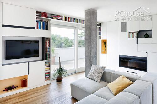 夏季8款小清新客厅设计