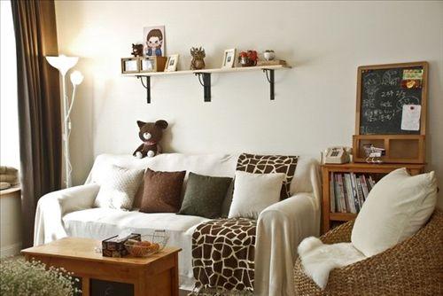 88平两室两厅 文艺青年打造简约清新家高清图片