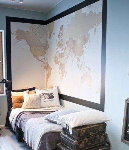 8款靠谱床头背景墙 点亮最炫创意卧室