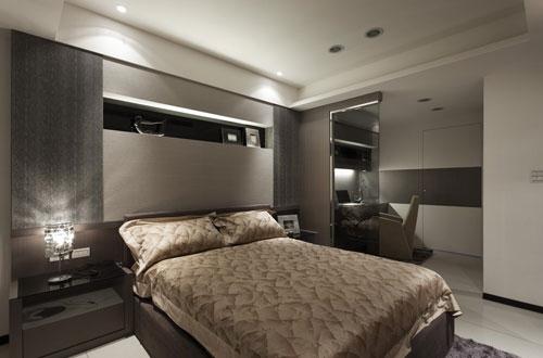 卧室平视设计手绘图