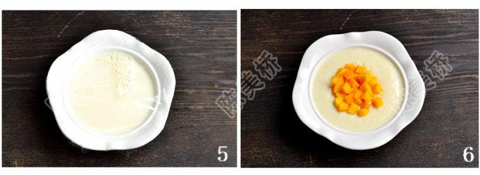 #美食新新年#温暖细滑的【&nbsp;<wbr>芒果双皮奶】