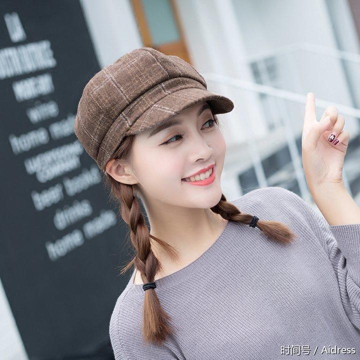 帽子控看过来!不同女生脸型戴帽的技巧,看看你是哪种脸型!