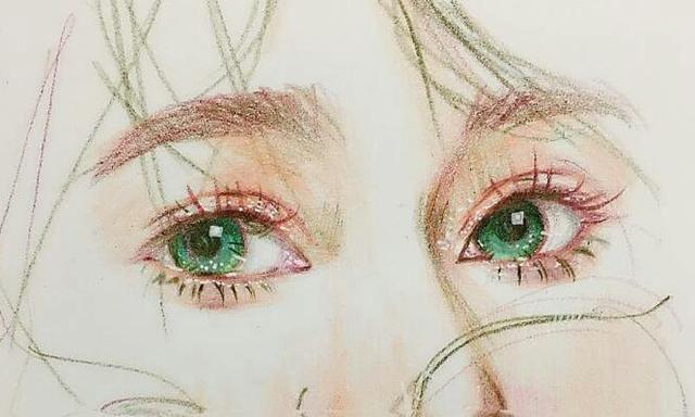 十二星座专属的手绘眼睛,金牛座柔情似水,狮子座眼神坚定!
